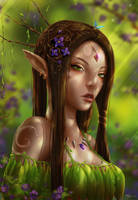 Forest Elf by Zarory