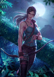 Lara Croft by Zarory
