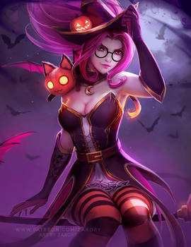 Bewitching Janna by Zarory