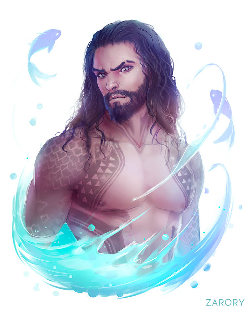 Aquaman by Zarory