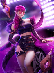 K/DA Evelynn by Zarory