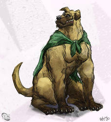 The Hero Hound, Wonderdog by aokamidu