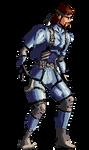 Solid Snake Sprite by Nighteba