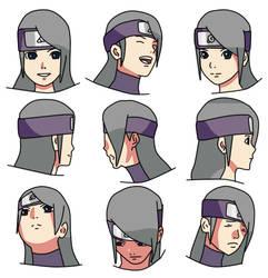 Hana face draw by hanamiami