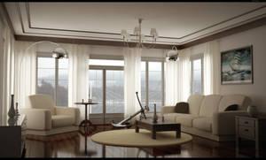 Living room by HajaVaikutus