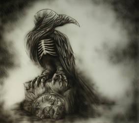 Raven by WhiteRaven89