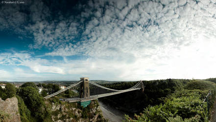 Clifton Suspension Bridge, BR by Kapische