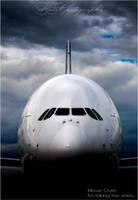 A380 - Queen of the skies. by Kapische