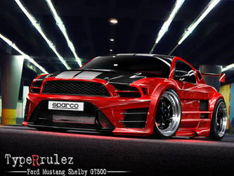 Ford Mustang Shelby GT500 by typerulez