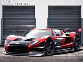 track Ford GT by typerulez