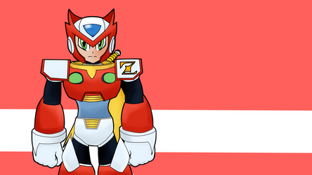 Zero (Megaman X style) by Warlord9787