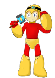 Megamaker man (megamaker fan art) by Warlord9787
