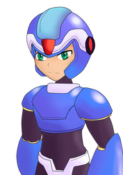 Megaman X MMZR style by Warlord9787