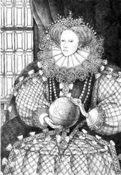 queen Elisabeth by Folda