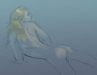 Day nude by Folda