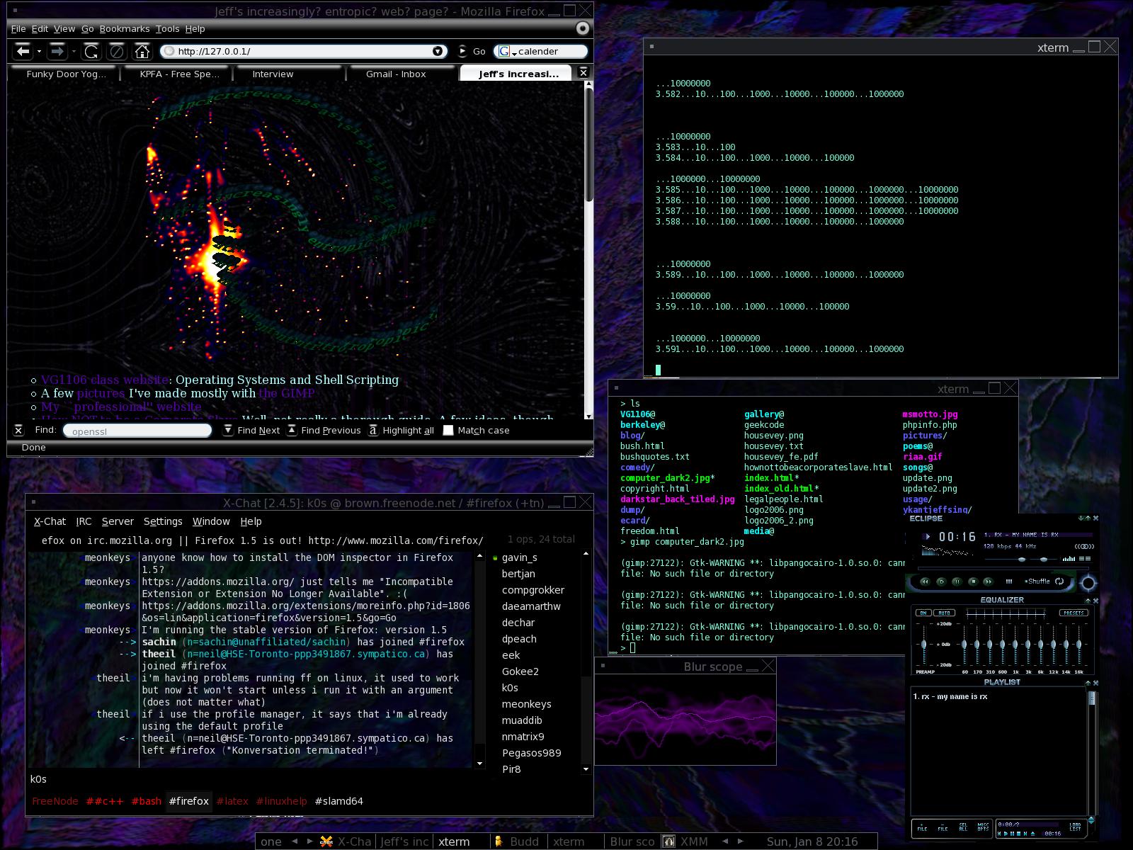 my desktop by k0scist