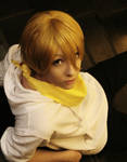 Masaomi Kida -  Weight of the World by tipsy-g
