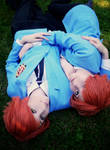 Ouran - Hikaru and Kaoru by tipsy-g