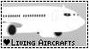 I Love Living Aircrafts Stamp by EchoAllient