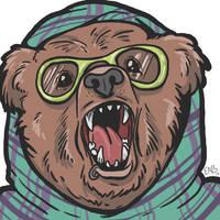 Hipster Bear v. 1.1 by PackofWildBores