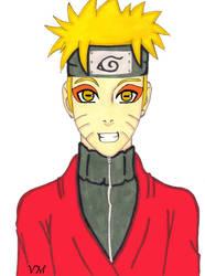Naruto - Birthday Card by Princess-Tria