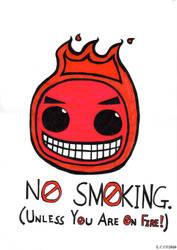No smoking by Lorisarrd