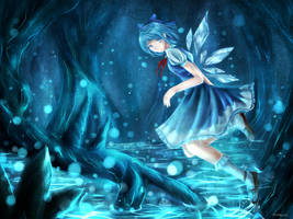 Cirno Day by xilveroxas