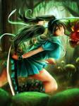 Alice in Tokyo Wonderland by xilveroxas
