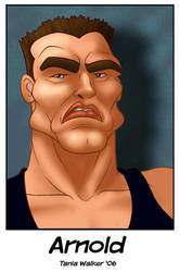 Caricature: Schwarzenegger by animator