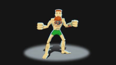 Fighter McGregor by Skanarchy91