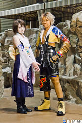 FFX: Tidus and Yuna by Pisaracosplay