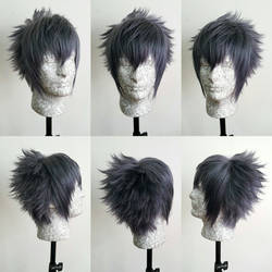 Noctis FFXV wig commission by Pisaracosplay