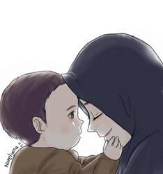 Mother by yana8nurel6bdkbaik
