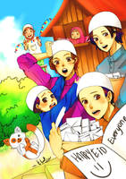 Happy Eid everyone :) by yana8nurel6bdkbaik