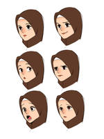 Expression study by yana8nurel6bdkbaik