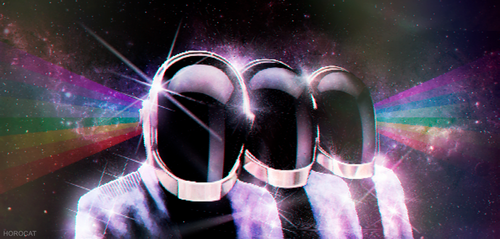 Daft Punk by HoroCat
