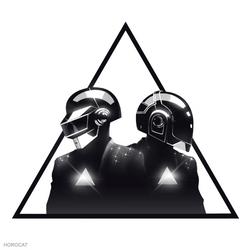 Daft Punk Triangle by HoroCat