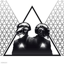 Daft Punk Triangle 2 by HoroCat