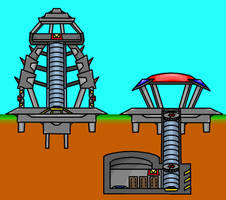 Tower and Bunker Design by Donitz