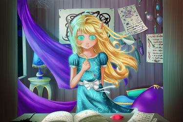 Elysia's Beginning by TastyCupcakeArt