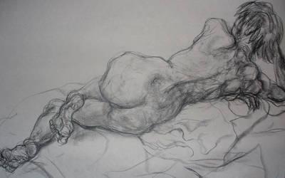 UCD Summer 2007: Female Nude 3 by amandapampena