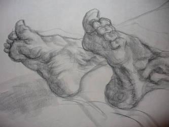 UCD Summer 2007: Feet Study by amandapampena