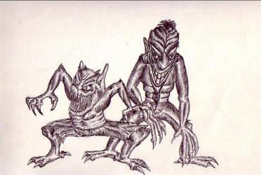 Monsters by Grayhair