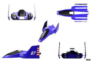 Blue Falcon F zero by emanon01