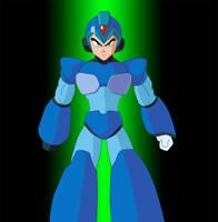 Megaman Rockman dbz style by emanon01