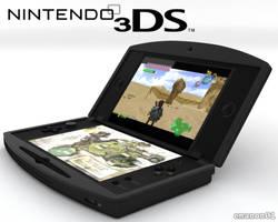 Nintendo 3DS screen by emanon01