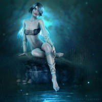 Faerie of the Crystal Night by AF-studios