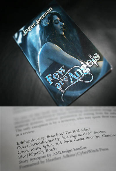 Few Are Angels Book Cover by AF-studios