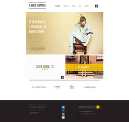 Fashion Website by encore13
