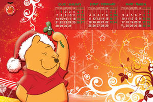 winnie calender by devilishart